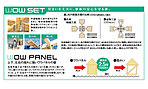 ●耐震、耐久を考えた金物を使用したワウセット工法!
