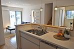 キッチン:レンジフード・食洗機付きIH (写真は7号地)