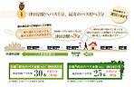 津田沼の行きのバスが7時8時は合わせてなんと55本!約2~3分間隔でバスが来るので朝の忙しい時間も楽々です!