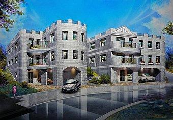堅固で地震にも強い鉄筋コンクリートユニット工法の100年住宅。スタイリッシュで風格もあります。