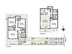 【14号棟】4LDK、土地面積:119.21m2、建物面積:94.54m2。LDKは約17.6畳の広さを確保。広々スカイバルコニーでアウターリビングを楽しめます。