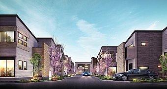 敷地面積100m2超・建物面積97m2超 全32邸の街並みプロジェクト