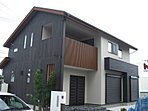 建物プラン例(かわいらしい南欧風の外観!白い外壁に屋根の色がアクセントに!)