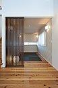 建物プラン例(シンプルモダンがテーマのお家♪吹抜けにより、明るく解放感のある造りになっています)
