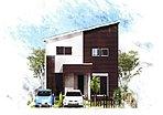 よかタウンのお家は自由設計の注文住宅♪お好きなデザインのお家が建てられます。
