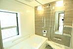 浴室乾燥機付きで雨の日のお洗濯もできますね