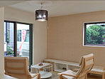 室内照明もデザイン性のあるものを設置しています。