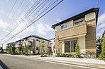 全邸125m2以上敷地面積のゆとりある街区計画。
