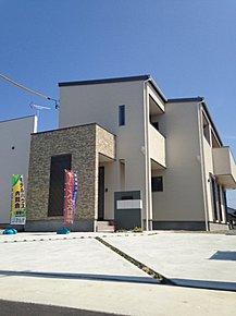 D棟:外観 オール電化の長期優良住宅です。