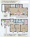 D棟:間取り 4LDK シューズクローク、ウォークインクローゼット、キッチン横にも収納があります。