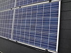 太陽光パネルが標準搭載なので、電気代も安心のエコ住宅です