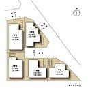 【現地写真】 Curateの家は完全自由設計ですので、女性建築家にご相談いただきながら、ご希望に沿った間取りプランをお造りいただけます。写真は1号地・2号地角地(北側から撮影)