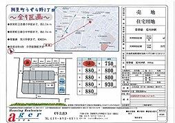【アゲルホーム】阿見町うずら野1丁目(建築条件付宅地分譲)