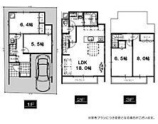 参考プラン。建物面積102.66平米。