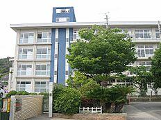 鹿島中学校 約1800m