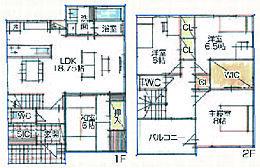 3号地プラン例 床面積113.7m2 建物価格1966万円