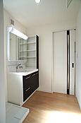 洗面室(同社建物施工例)