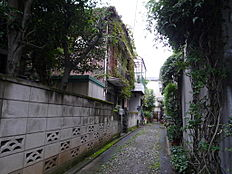 面道路含む現地外観:平成28年9月16日撮影