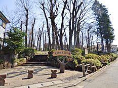 公園も多いのがこのエリアの特徴です。