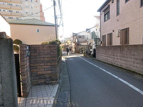 土地-西東京市柳沢5丁目 前面道路南側4mの公道