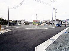 現地写真 15区画の新しい街並み