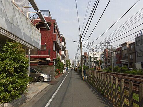 マンション(建物全部)-板橋区常盤台3丁目 前面道路(南側)