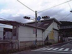 駅黒江駅まで1933m