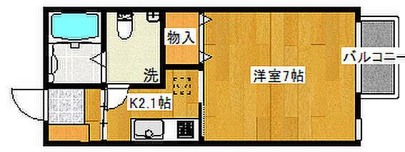 アパート-仙台市青葉区堤町3丁目 102号室間取り