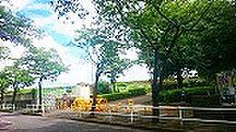 中川堰堤児童公園も80Mに立在