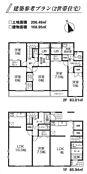 建物参考プラン 建物面積168.95平米 2世帯住宅プラン