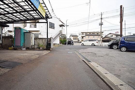 アパート-千葉市中央区都町3丁目 北東側公道幅員約14.7m/間口約16.74m