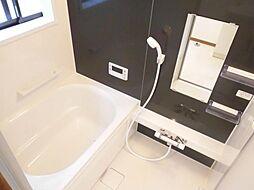 リフォーム済み。浴室です。ハウステック製の0.75坪のユニットバスに新品交換しました。