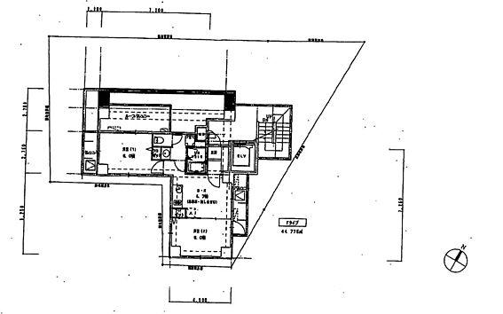 マンション(建物全部)-中野区野方5丁目 6階部分間取り