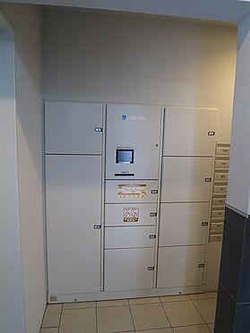 マンション(建物一部)-会津若松市中央3丁目 便利な宅配ボックスです