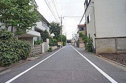 前面道路東方向