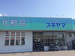 ドラッグスギヤマ(中島新町店) 徒歩15分