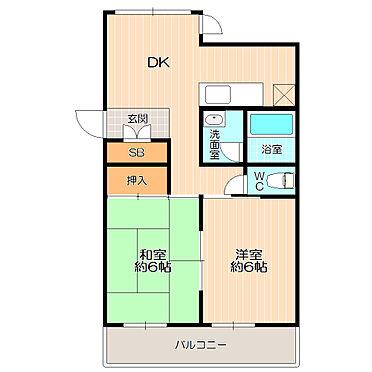 マンション(建物全部)-松戸市新松戸北1丁目 二面採光で明るく、風通しの良いお部屋。