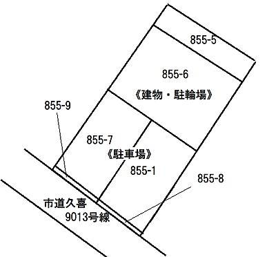 アパート-久喜市久喜東1丁目 売買対象地