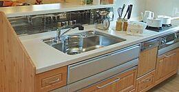 (参考プラン)間取図のキッチンのイメージです