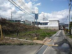 南側からの宅地写真