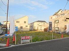 敷地面積40坪超、建物面積27坪超の分譲地内 全8区画。京王線・中央線の2路線2駅利用可能。