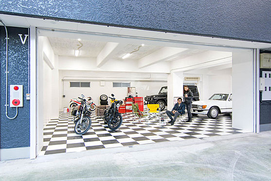マンション(建物一部)-江東区三好4丁目 ガレージは全部で5タイプございます(1F)
