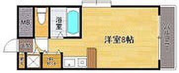 マンション(建物一部)-福岡市博多区諸岡5丁目 間取り