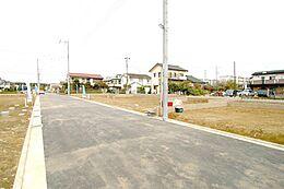 6mの道路は車庫入れが楽にできます。