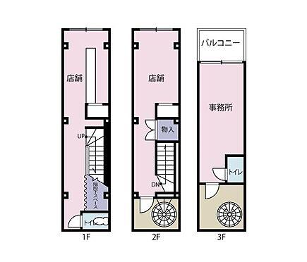 店舗事務所(建物全部)-千代田区神田美倉町 間取り