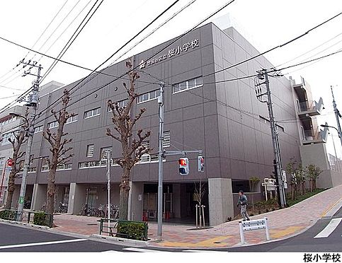 店舗(建物一部)-世田谷区桜3丁目 桜小学校