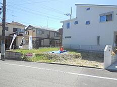 東南角地のフリープラン対応住宅です。陽当たり良好 最終1区画。