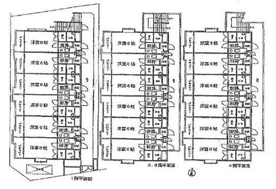 マンション(建物全部)-神戸市東灘区深江本町1丁目 間取り