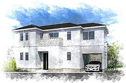 住友不動産の建物プラン1構造:RC造木造2階建て