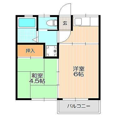 マンション(建物全部)-葛飾区奥戸1丁目 和室のあるゆったりとした間取り。